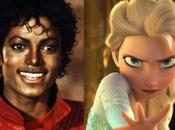 reine neiges danse Thriller Michael Jackson