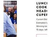 Apple déjeuner avec Cook enchères