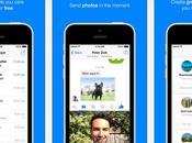 Facebook Messenger pour iPhone Android pousse conversation vidéo photo