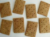 crackers maison diététiques complets multicéréales blé-soja-lupin-souchet-millet (sans sucre beurre oeufs)