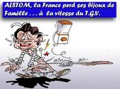 DESSIN PRESSE: General Electric Alstom