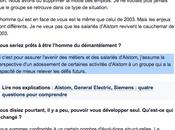 Alstom Chapeau, Patrick Kron aura retraite avec Siemens