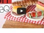 Tuto vidéo Éléments barbecue pâte polymère