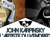 John Karpinsky Candy Skull Star Wars L'artiste vendredi