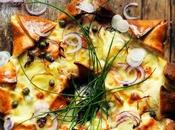 Pizza étoile neiges Parce j'aime toujours m'amuser cuisine