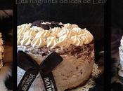 Layer cake marbré chocolat