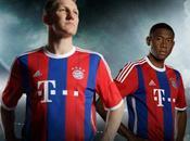 Mercato-Bayern maillot retour bandes verticales
