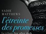 L'étreinte promesses Sadie Matthews