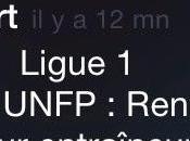 TrophéeUNFP foot français train mourir...