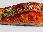 S115 saumon marine laque sauce teriyaki