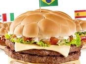 McDonald's dévoile burgers pour Coupe Monde 2014 Brésil