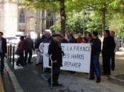 Manifestation Orléans hommage l'abandon Harkis