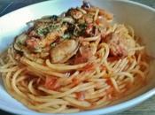 Spaghetti Moules, Tomates Safran