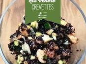 Salade noir Venere crevettes