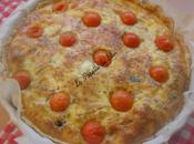 Quiche Poulet, Olives Noires Mozzarella