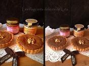 Tartelettes fondant chocolat caramel fleur Guérande