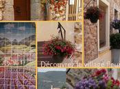 Village fleuri, village joli