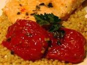 Saumon Couscous Marocain, Tomates Confites