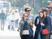 Scarlett Johansson enceinte dans rues Paris