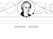 Doodle pour célébrer naissance Maria Gaetana Agnesi