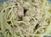 Spaghetti sauce thon, gingembre échalote