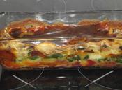 Lasagnes betterave, epinard, courgette