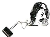 portraits rock stars bande magnétique