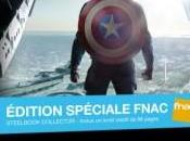 FNAC dévoile steelbook Captain America: Winter Soldier