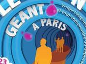 colon géant installé Paris