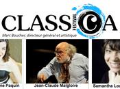 programmation vocale riche diversifiée pour quatrième édition Festival Classica, fins saison lyriques Trois-Rivières Québec Célébrons l'opéra Parc Olympique Montréal