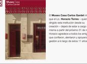 Museo Casa Carlos Gardel perd excellent directeur [Actu]