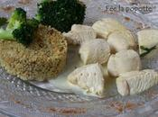Poulet coco crème curry noix