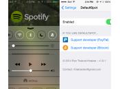 Cydia DefaultSpot, Spotify comme lecteur défaut l'iPhone