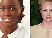 "Lupita Nyong'o Gwendoline Christie rejoignent casting ""Star Wars Episode VII""!"