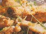 Beignets d'huîtres épices, gingembre estragon