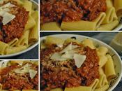 Sauce bolognaise crémée rôti palette boeuf braisé