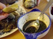 Saucette pour trempette d'artichaut sauce betterave