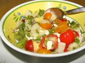 Salade d'asperges tomates cerises feta