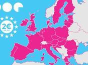 Mode Europe, pour communiquer dans toute l'Europe comme France