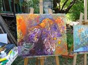 STAGE PEINTURE PROVENCE Abstraction tachisme l'art spontané
