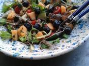 Panzanella (salade Toscane tomates pain)