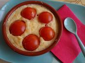 Clafoutis tomate cerise, feta basilic