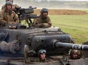 Fury Brad Pitt potes pleine seconde guerre mondiale