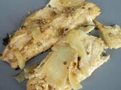 Truite marinée plancha