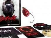 Berserk L'âge d'or L'avent, édition Blu-ray collector annoncé chez Dybex