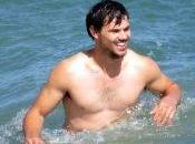Taylor Lautner 'Run Tide'