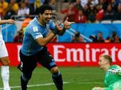 Coupe monde Suarez plombe l'Angleterre