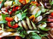 vendredi c'est retour vers futur… Petite salade d'été légumes grillés parce l'été s'installe…