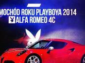remporte titre voiture Playboy l'année 2014 #alfaromeo