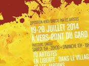 Exposition Vers-pont-du-Gard Juillet 2014